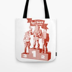Best beard Tote Bag