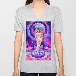 Psychedelic Venus Unisex V-Neck
