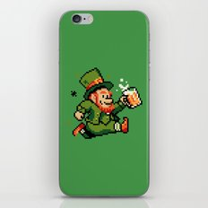 Leprechaun St. Patrick's Day iPhone Skin