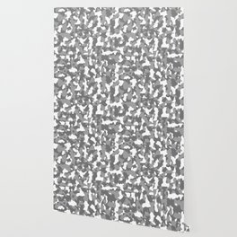 Shades of Grey Camouflage Wallpaper
