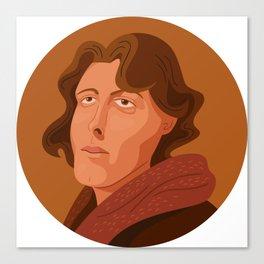 Queer Portrait - Oscar Wilde Canvas Print