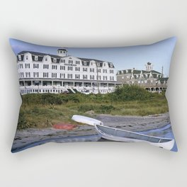 National Hotel - Block Island, Rhode Island Rectangular Pillow