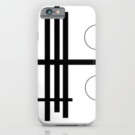 Geometric Small Play iPhone Case