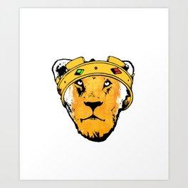 Phony King Art Print