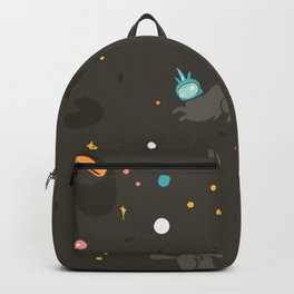 Space unicorn pattern Backpack
