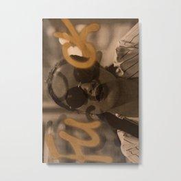 Gold F Bomb Metal Print