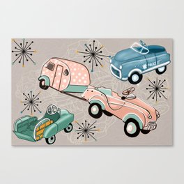 Hot Wheels of our Retro Past Canvas Print