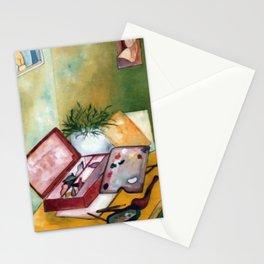 Caixa de tintas (Paint box) Stationery Cards