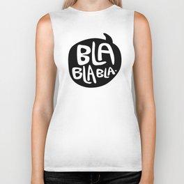 BLA BLA BLA Biker Tank