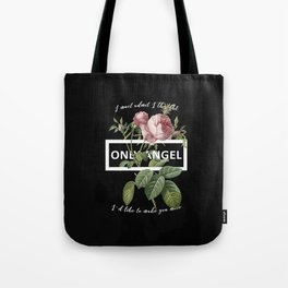 Harry Styles Only Angel graphic artwork Tote Bag