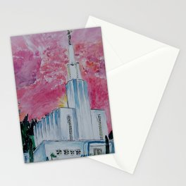 Bern Switzerland LDS Temple Stationery Cards