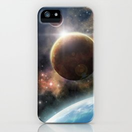 Welcome to the Space iPhone Case