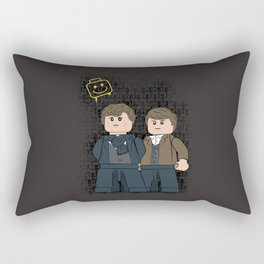 Solving Crimes  (Lego Sherlock Holmes) Rectangular Pillow