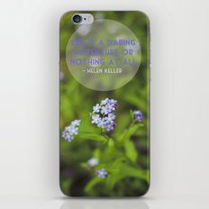 life is an adventure. iPhone Skin