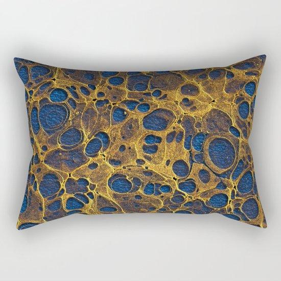 Golden Marble 06 Rectangular Pillow