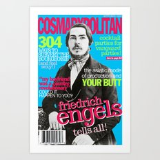 COSMARXPOLITAN, Issue 2 Art Print