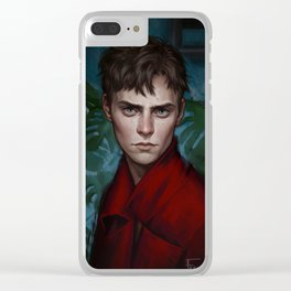 Somebody Else Clear iPhone Case