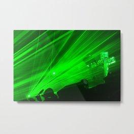 Laser Energy  Metal Print