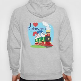 Ernest and Coraline | I love Delaware Hoody
