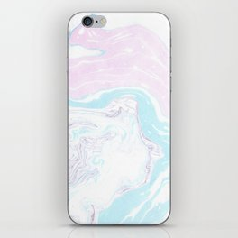 Colorful Waves Marbling iPhone Skin