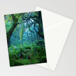 Enchanted forest mood Stationery Cards
