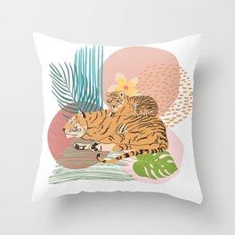 Tiger #2 Throw Pillow