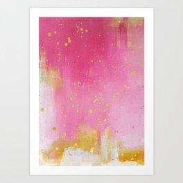 Pinkish Art Print