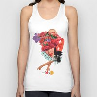 solid Tank Tops featuring Solid things 8  by Natural Values