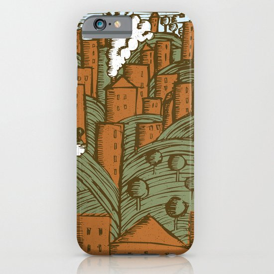 A CITY ON A HILL iPhone & iPod Case