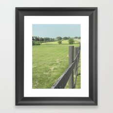 Wondering Road  Framed Art Print