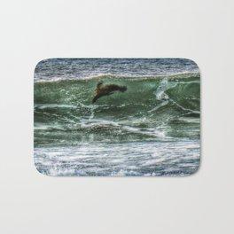 Surfin' Sea Lion Bath Mat