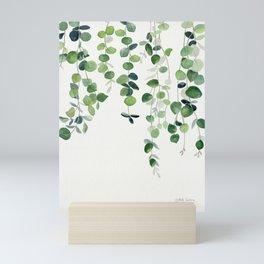 Eucalyptus Watercolor 2  Mini Art Print