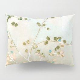 mosaica glitterati in blue + gold Pillow Sham
