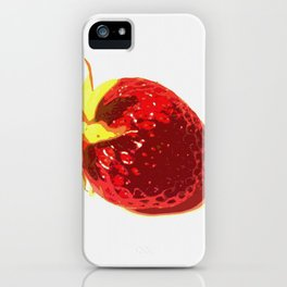 Strawberry - Old Man of the Earth iPhone Case