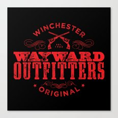 Wayward Outfitters Canvas Print