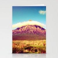 scotland Stationery Cards featuring Buachaille Etive Mòr, scotland. by zenitt