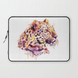 Leopard Head Laptop Sleeve