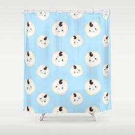 Goblin Pattern Shower Curtain