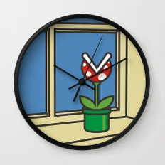 Oh Peach, I Roam My Roam - Variant Wall Clock