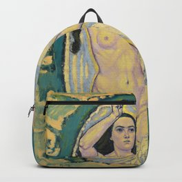 Koloman Moser - Venus in the Grotto Backpack