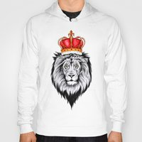 lion king Hoodies featuring Lion King by Libby Watkins Illustration