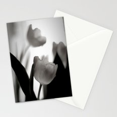 Tulip Love bw Stationery Cards