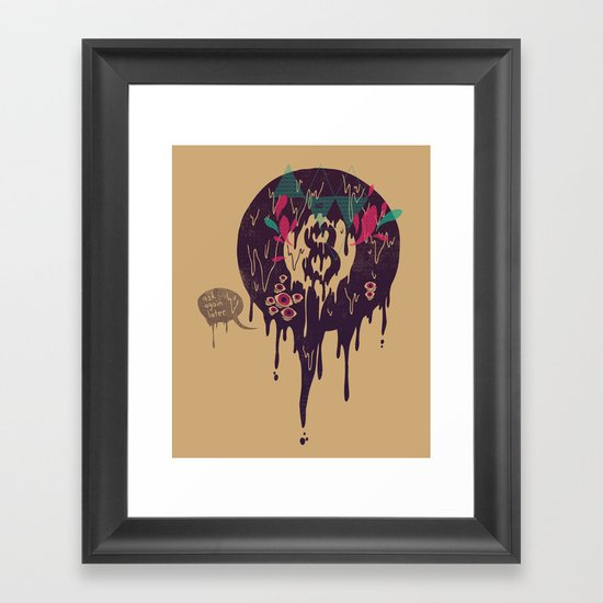 Bad Omen Framed Art Print