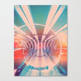 Transporter Canvas Print