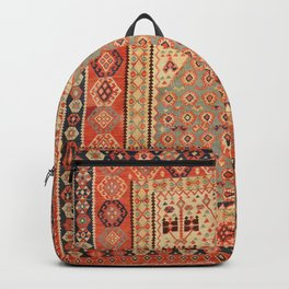 Antique Erzurum Turkish Kilim Rug Print Backpack