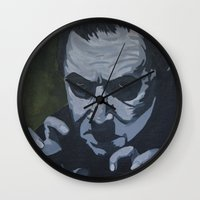dracula Wall Clocks featuring Dracula by Paintings That Pop