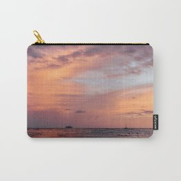 Cotten Candy Sunset Carry-All Pouch