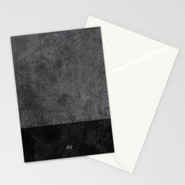 Dark luxury concrete  Stationery Cards