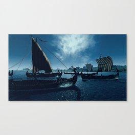 Drakkar Canvas Print