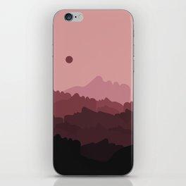 Love Mountain Range iPhone Skin